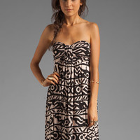 Rachel Pally Nanette Strapless Dress in Bamboo Serengeti from REVOLVEclothing.com