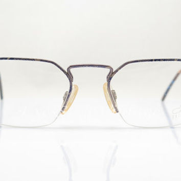 CAZAL 1109 , Vintage Eyeglasses , Multicolor , Semi-Rimless , Artistic , New Old Stock , Eyeglass , Sunglasses Frames