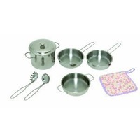 Cookin' For Kids Pots And Pans Set (Window Box)