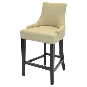 Eckhard Fabric Counter Stool Linen