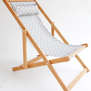 Utikuma Deck Chair, sling chair, handmade outdoor furniture