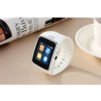 Hot Smart Watch with SIM TF card Bluetooth GSM FM smart watch for Samsung HTC Android phone digital wristwatch