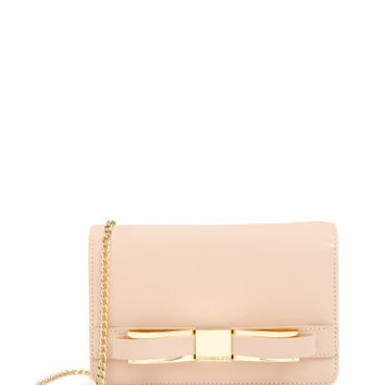 Bow clutch bag - Taupe | Bags | Ted Baker