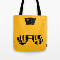 Taxi Driver - you talking to me? Tote Bag by g-man
