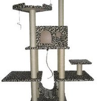 BestPet 11L Cat Tree Condo Furniture Scratch Post Pet House, 70-Inch