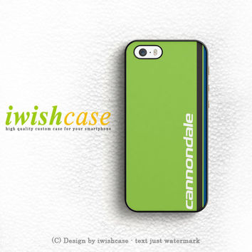 Cannondale Bike Team Bicycle Cycling Logo iPhone 5 5S 5C Case Cover