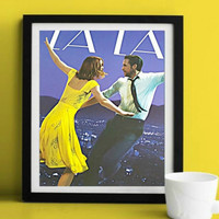 La La Land Movie Original Wall Art  | Lisa Jaye Art Designs