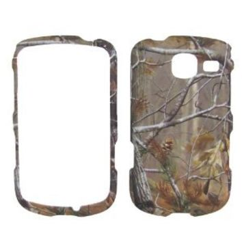 Samsung Freeform 4 R390 Case Cover Snap on Hard Faceplate Protector Camouflage Woods Design Autumn Camo Tree