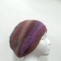 Beanie hat Knitted  - 4957