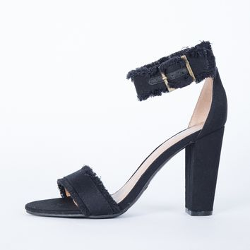 Nightfall Denim Heels