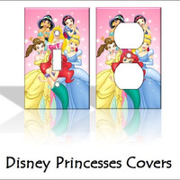 Disney Princesses Light Switch Covers by KeepCalmandTurnItOn