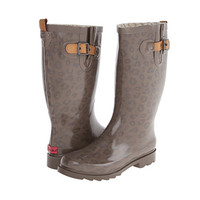 Chooka Top Solid Leopard Rain Boot