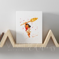 Moana 2 Gallery Wrapped Canvas