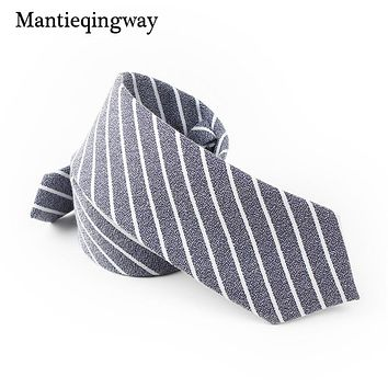 Male Formal Wear Business Suit Tie Skinny Neckties Fashion Striped Tie Black Wedding Tie Bow Ties For Men