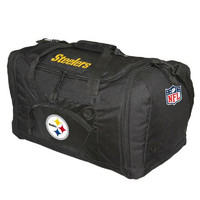 Pittsburgh Steelers NFL Roadblock Duffle Bag (Black)