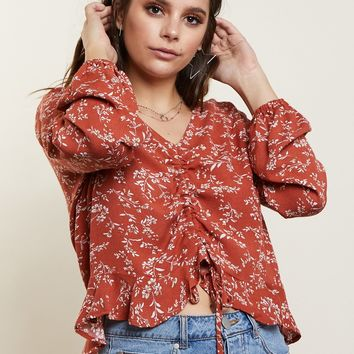 Spring Bloom Flora Top