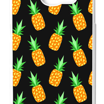 Pineapple Fruits iPhone Samsung Galaxy S6 Cases - Hard Plastic, Rubber Case