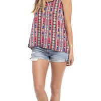Summer Vibes Printed Tank Top