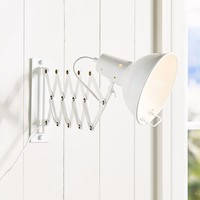 Accordian Wall Light