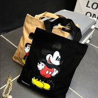 Mickey Mouse Canvas Shoulder Bag