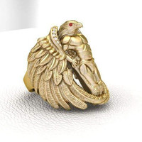 Osiris Egyptian Men's or Ladies Ring