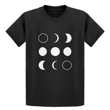 Youth Moon Phases Kids T-shirt