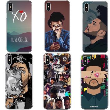Super Star The Weeknd Starboy Hard Phone Case iPhone 5/6/7/8/X Plus Back Covers