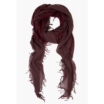 Chan Luu Cashmere Scarf ~ Huckleberry Fig