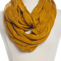 On Holiday Infinity Scarf, Yellow