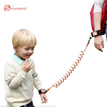 Brand 1.8m safety wristbands for kids children baby anti lost child baby walking stick assistant harness belt aid wings sling