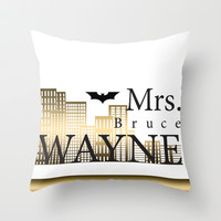 The Future Mrs... Throw Pillow by NikkiBaby