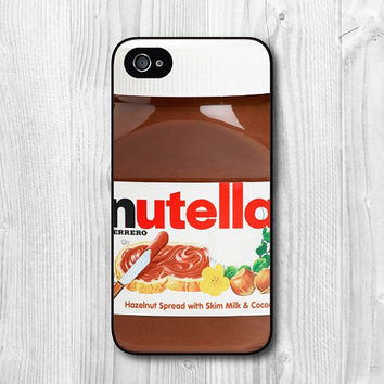 Nutella Hard Cover Case For iPhone 4 4s 5 5S 5C
