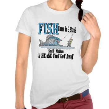 Funny fishing shirt fishing humor fishing from zazzle for Funny fishing shirts