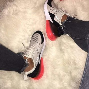 2018 Original Nike Air Max 270 men and women The air cushion shoes