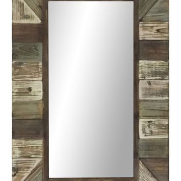 Crystal Art Gallery Multicolor Wood Wall Mirror | Nordstrom