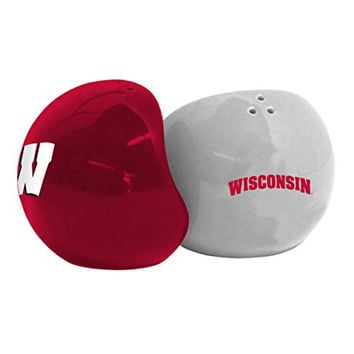 NCAA Wisconsin Badgers Home & Away Salt & Pepper Shakers, Red
