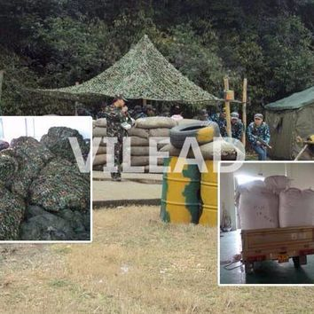 VILEAD 2M x 10M (6.5FT x 33FT) Woodland Military Camouflage Netting Army Camo Net Sun Shelter for Hunting Camping Car-Covers