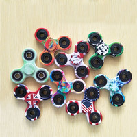 Multi Color Triangle Gyro Finger Spinner Fidget Plastic EDC Hand For Autism/ADHD Anxiety Stress Relief Focus Toys Gift 15 Styles