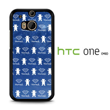 Grizzly Griptape Wallpaper X2283 HTC One M8  Case