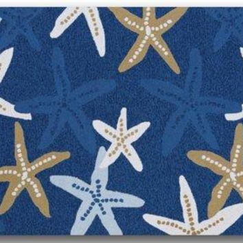 Autumn Fall welcome door mat doormat Star Fish On Beach Scenery s Cover Non-Slip Machine Washable Bathroom Kitchen Decor Rug Mat Welcome  AT_76_7