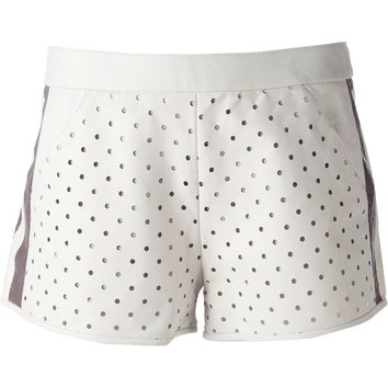 Drome perforated shorts
