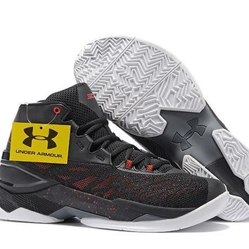 Under Armour Men's Sc30 Stephen Curry 3.5 Black/gray/red Blue Sport Sneaker | Best Deal Online