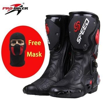 DCK7YE PRO-BIKER SPEED BIKERS Motorcycle Boots Moto Racing Motocross Off-Road Motorbike Shoes