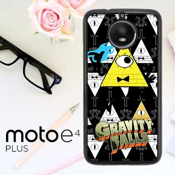 Gravity Falls Bill Cipher W3347 Motorola Moto E4 Plus Case