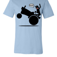 Tractor Wheelie 1l for light backgrnds - Unisex T-shirt