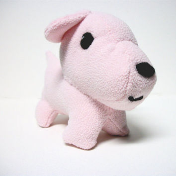 Dog Stuffed Animal Ecofriendly Hazel by RopeSwingStudio on Etsy