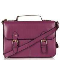 Edge Paint Satchel - Bags & Purses  - Bags & Accessories