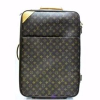 Louis Vuitton 55 Rolling Luggage Travel Suitcase Bag. Monogram Canvas Pegase Travel Ba