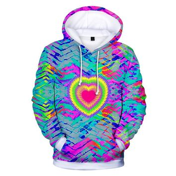 KPOP BTS Bangtan Boys Army  autumn/winter fashion men and women tie-dye 3D pop hip hop lounge hooded sweatshirt xxs-4xl AT_89_10