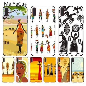 MaiYaCa American Hats Mexico Hipster Coque Shell Phone Case For iphone 8 8plus 7 7plus 6 6plus 5 5s XR SE Mobile cover custom